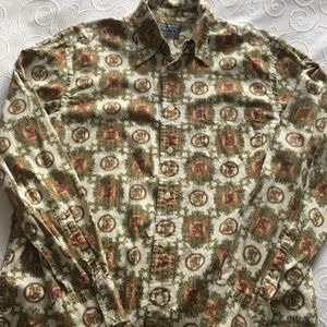 Lucky Brand Vintage Inspired Men's Shirt L